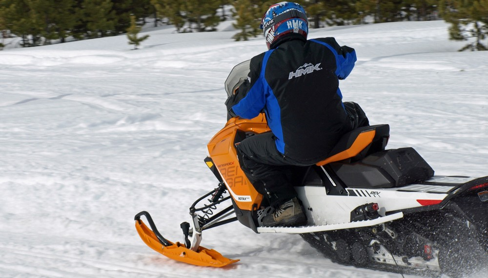 2017 Ski-Doo Renegade 850 X Action Rear