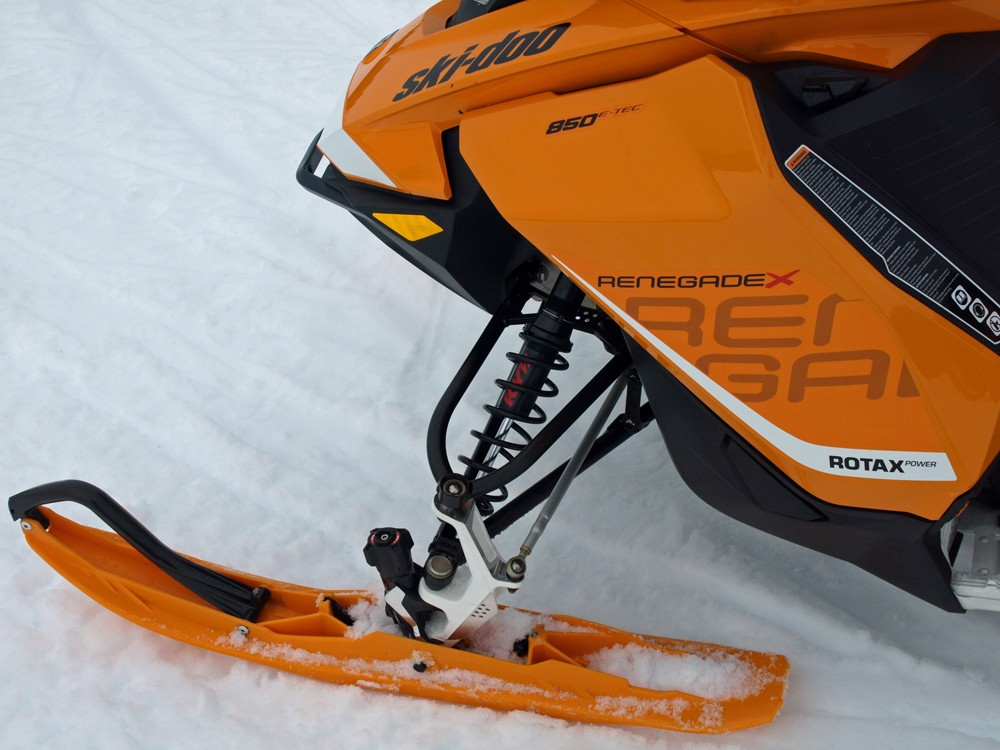 2017 Ski-Doo Renegade 850 X Front Suspension