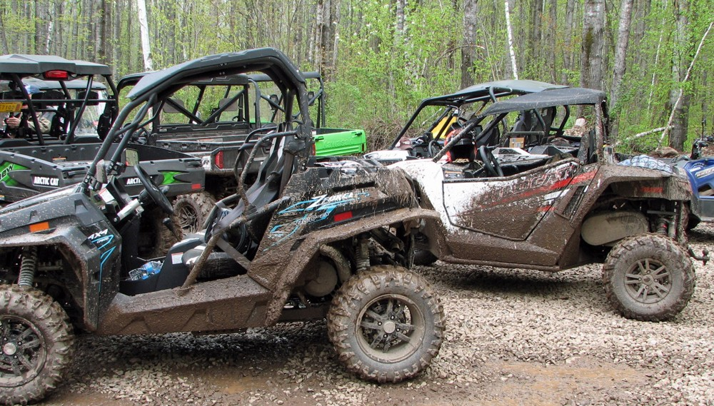 Arctic Cat Wildcat Muddy