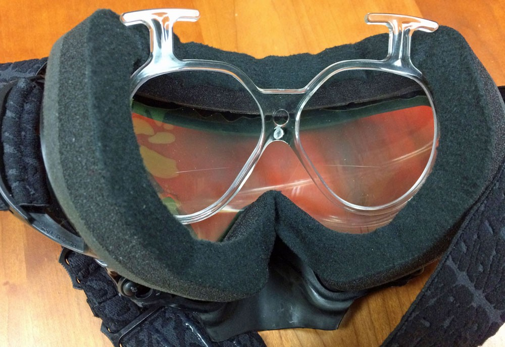 RX Goggles Fitting