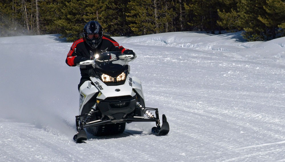 Snowmobile Vision Front