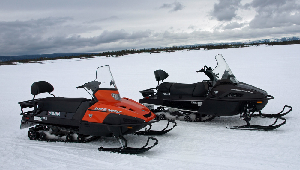 Yamaha Viking Snowmobile Review