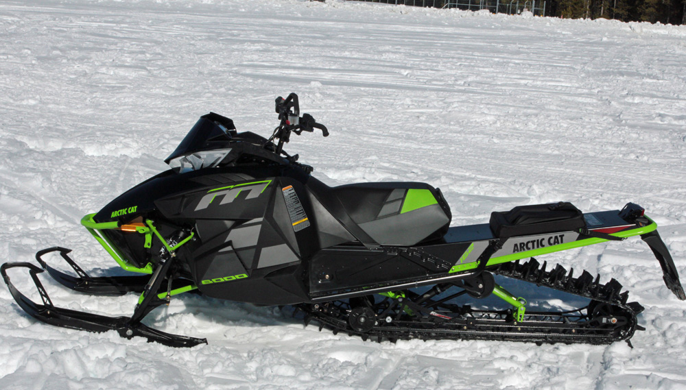 How To Change A Track On A Arctic Cat Snowmobile