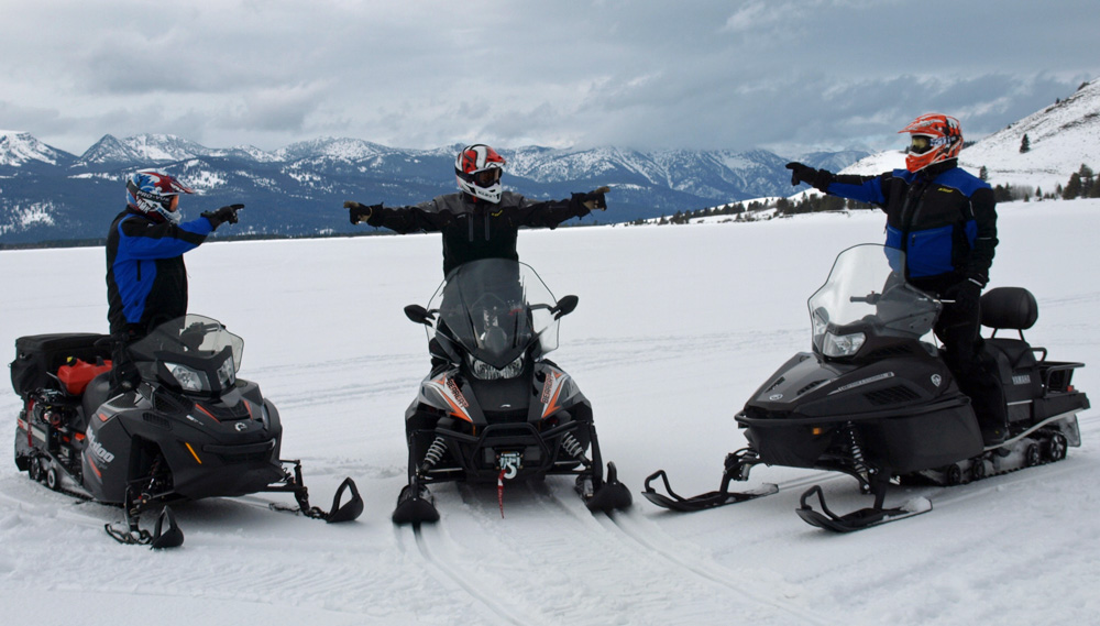 2017 Recreational Utility Snowmobile Comparison