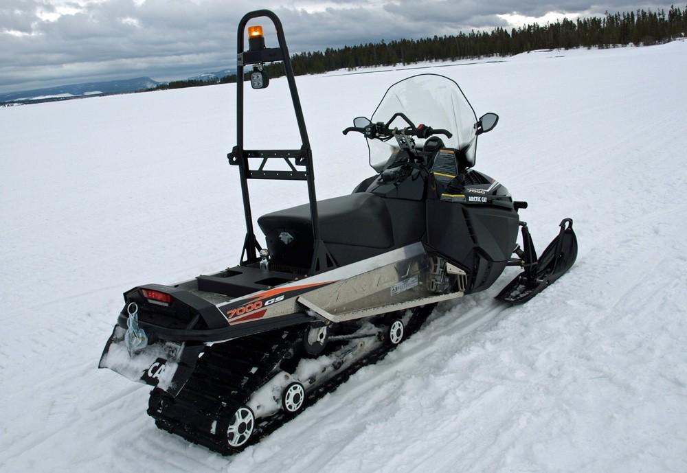 Arctic Cat Bearcat 7000 XT GS Rear