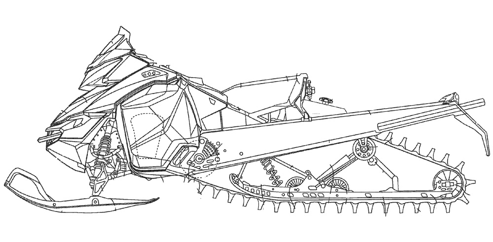 snowmobile coloring pages - photo#2