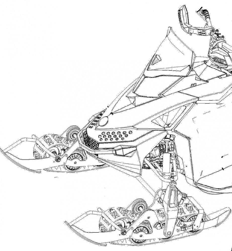 Snowmobile S Future Is Patent Pending Snowmobile Com