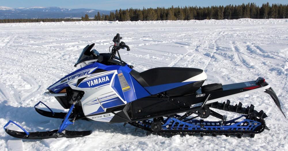 2017 Yamaha Viper M-TX Blue