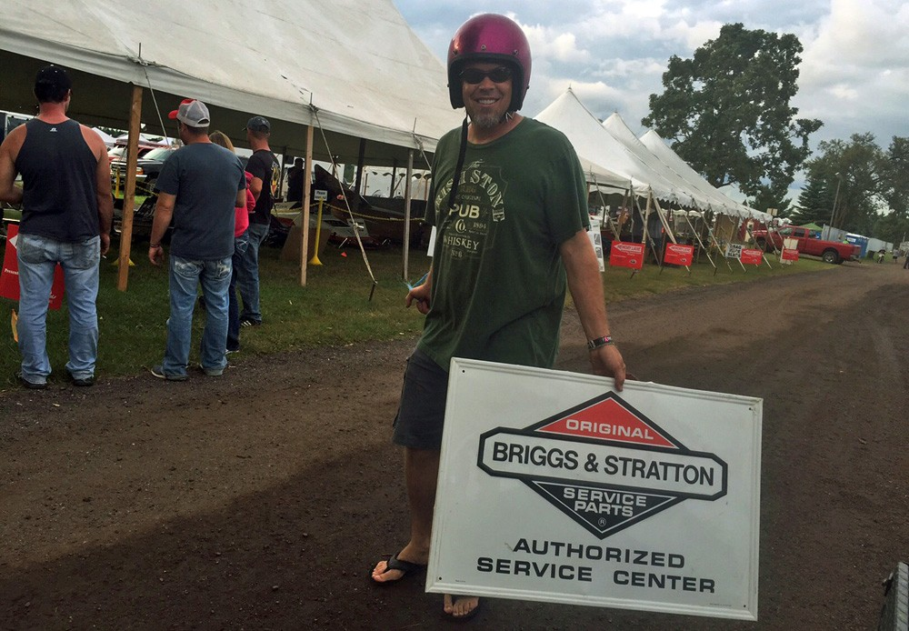 Briggs and Stratton Sign