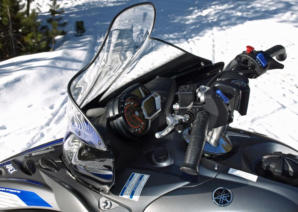 Yamaha Apex Top Speed