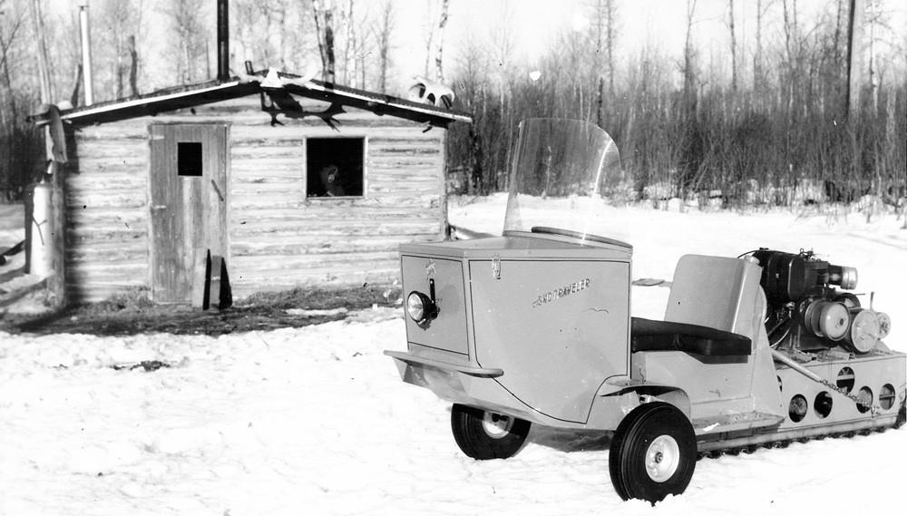 Polaris Sled Wheeler Camp