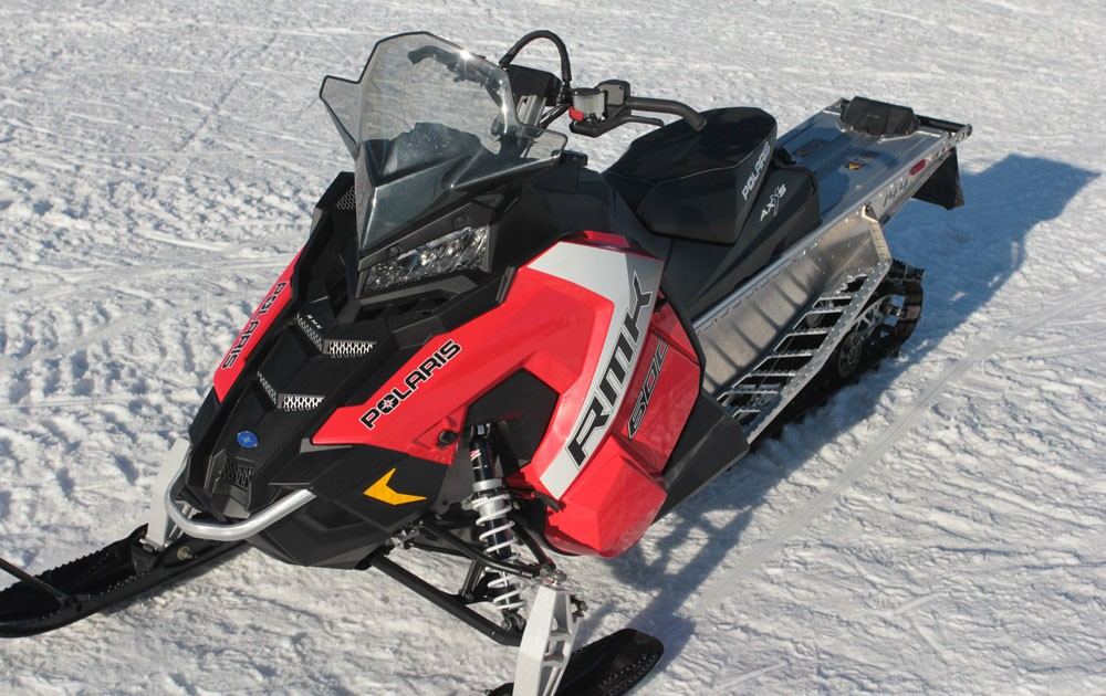 2017 Polaris 600 RMK Front Left