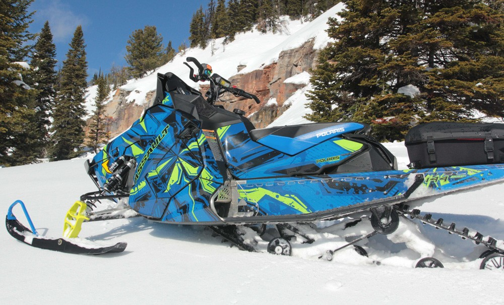 2017 Polaris 600 Switchback Assault FX Wrap