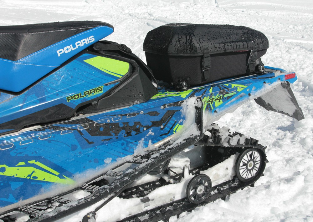 2017 Polaris 600 Switchback Assault Rear Storage