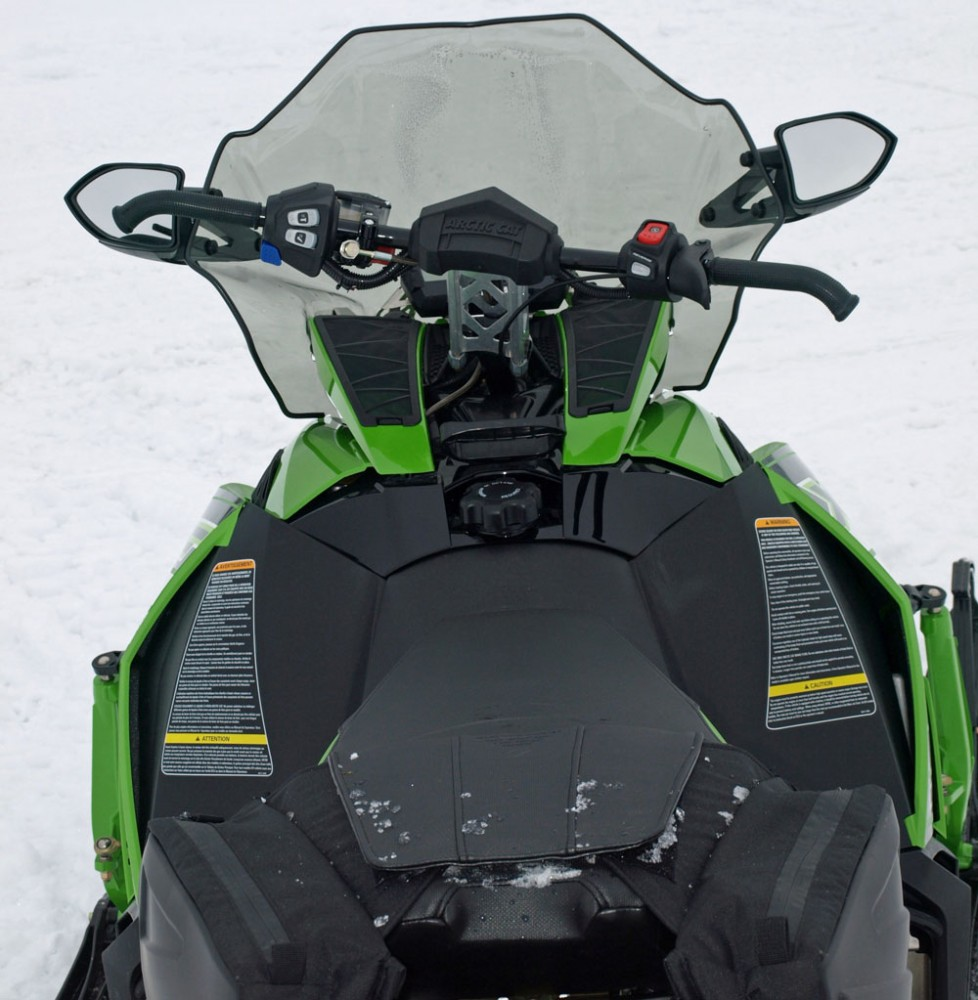 2017 Arctic Cat XF 6000 CrossTrek ES Cockpit