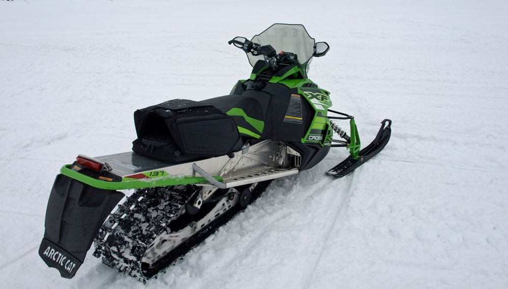 2017 Arctic Cat XF 6000 CrossTrek ES Rear
