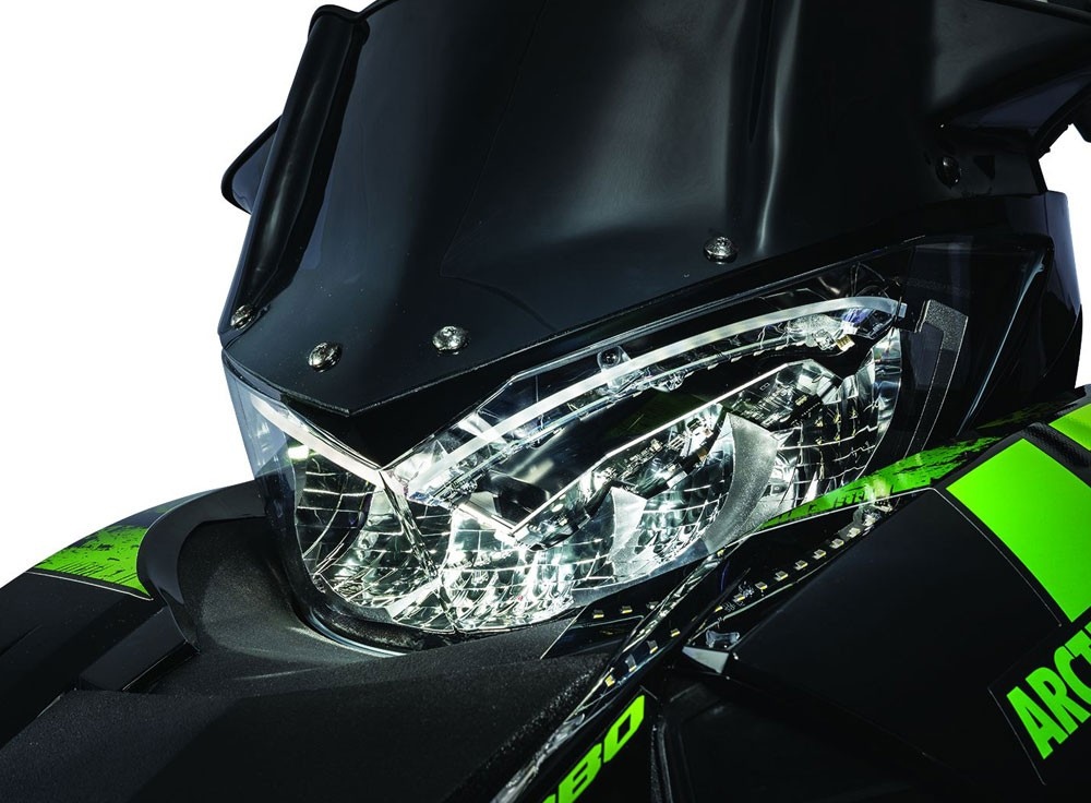 2017 Arctic Cat ZR 9000 LXR Headlight
