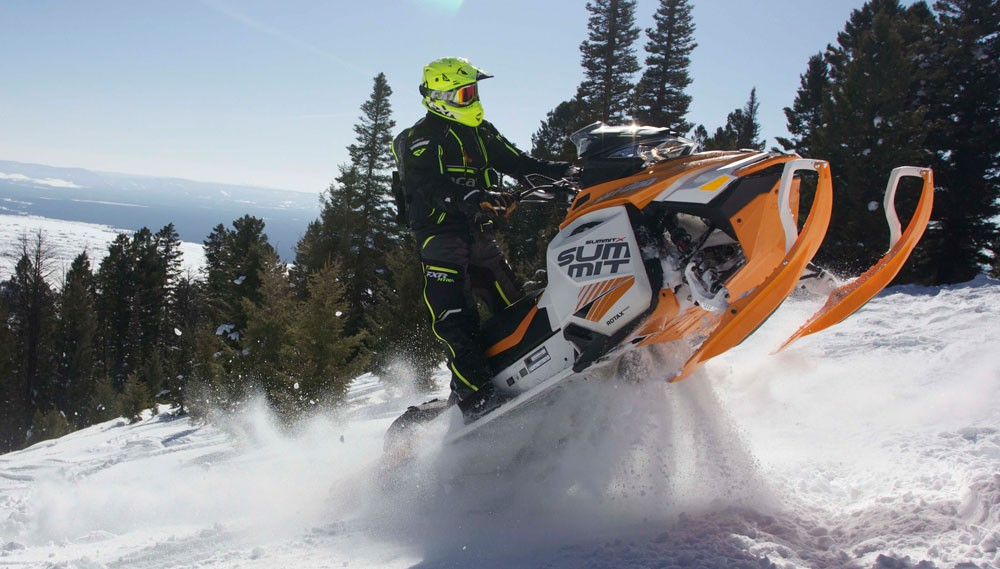 2017 Ski-Doo Summit X Action Power