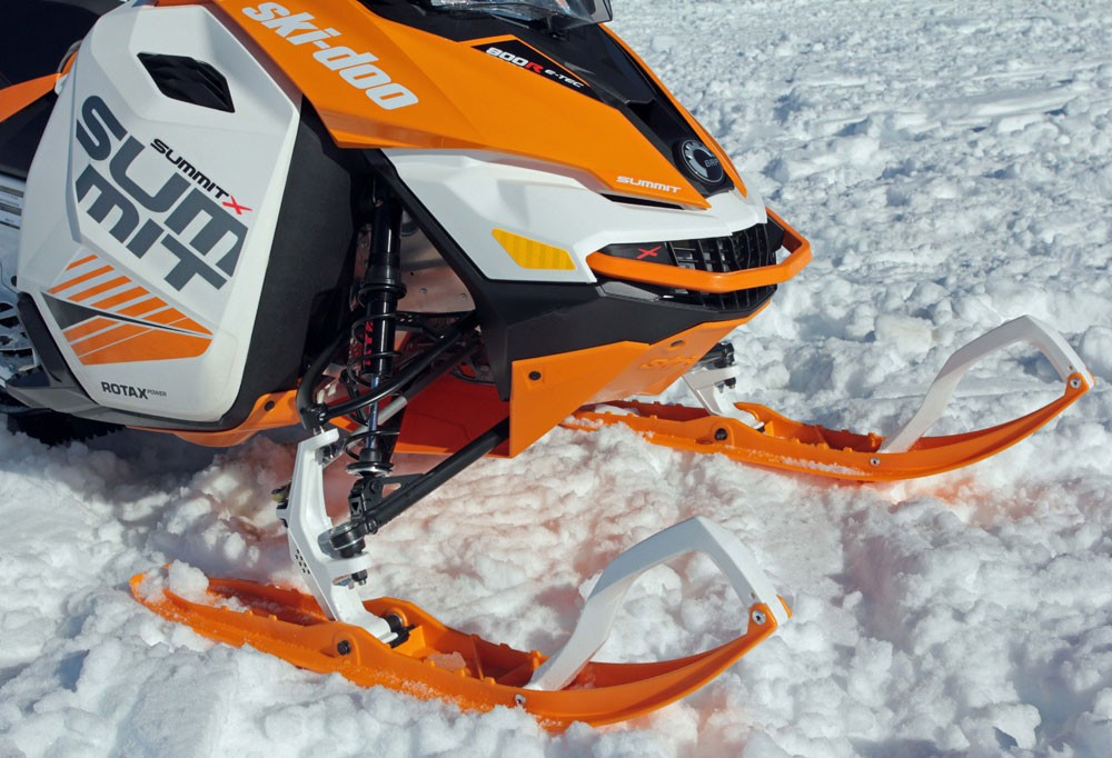 2017 Ski-Doo Summit X Front Suspension