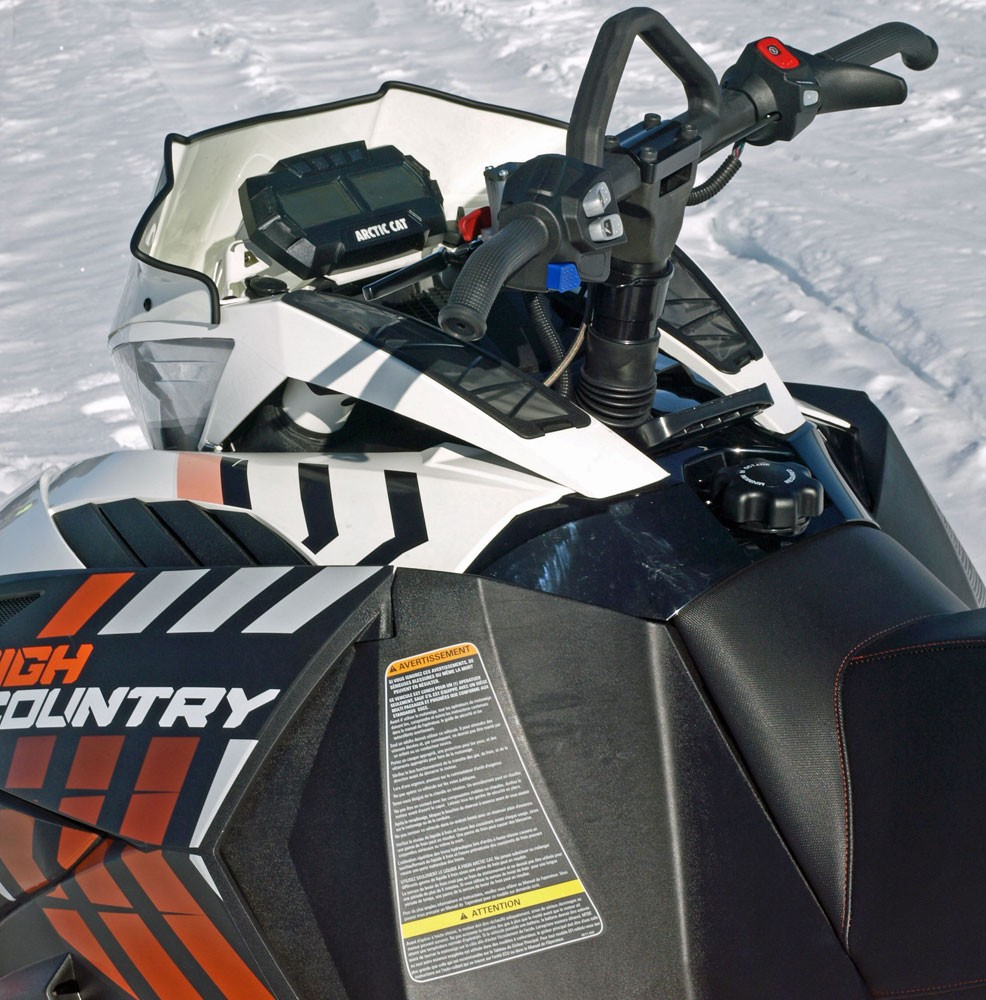 2017 Arctic Cat XF High Country Handlebars