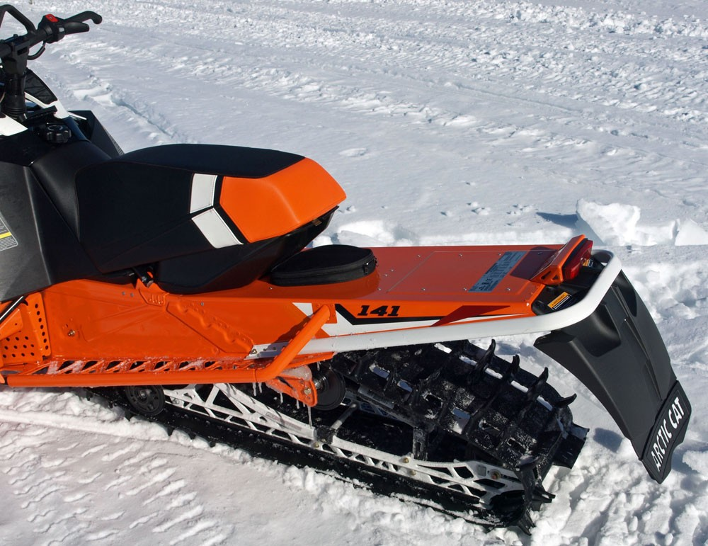 2017 Arctic Cat XF High Country Rear