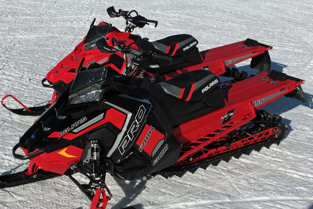 2017 Polaris 800 Pro-RMK 155 and 163