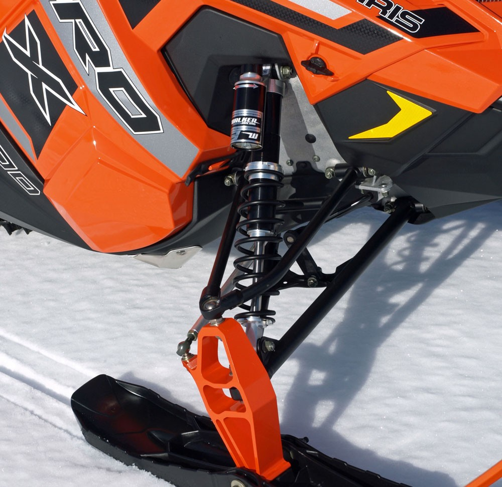 2017 Polaris 800 Rush Pro-X Front Suspension