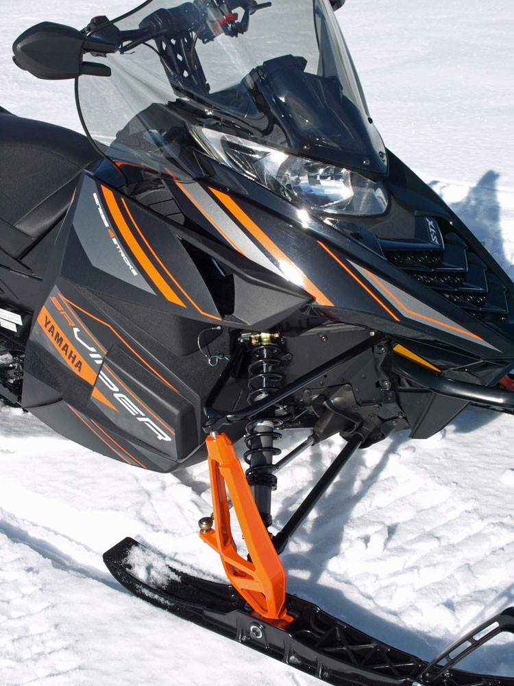 2017 Yamaha Viper S-TX 146 Front Suspension