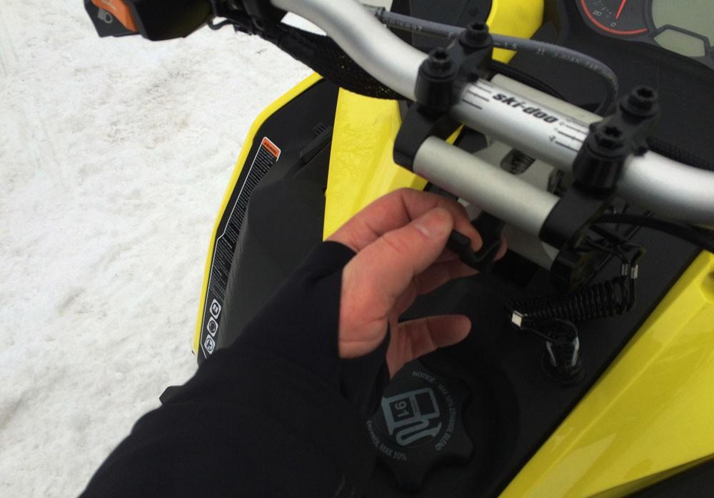 Trick Ski-Doo Handlebar
