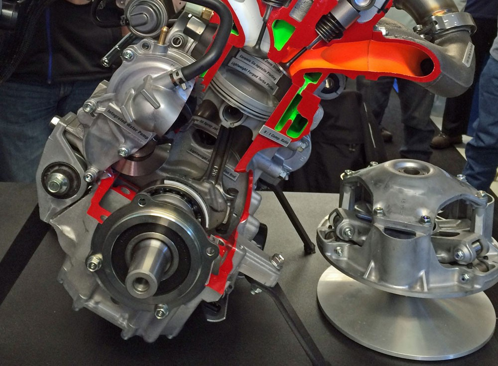 Yamaha Turbo and Clutch