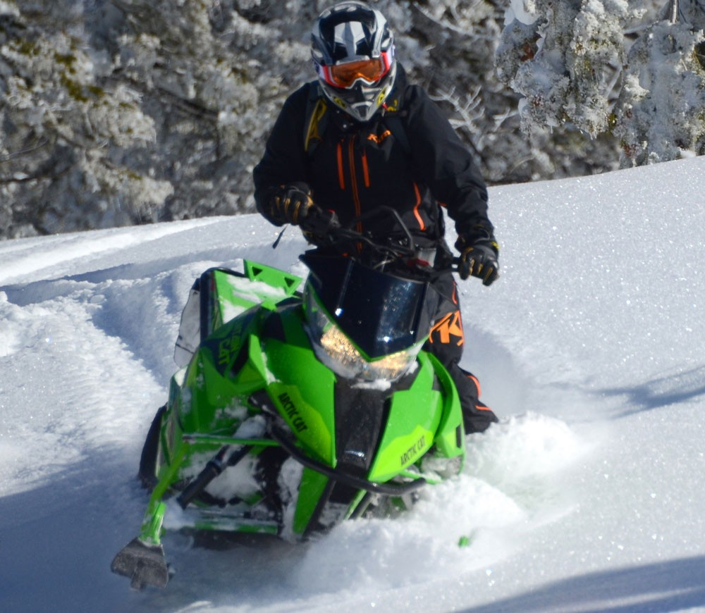 2017 Arctic Cat Mountain Cat Tall Bars
