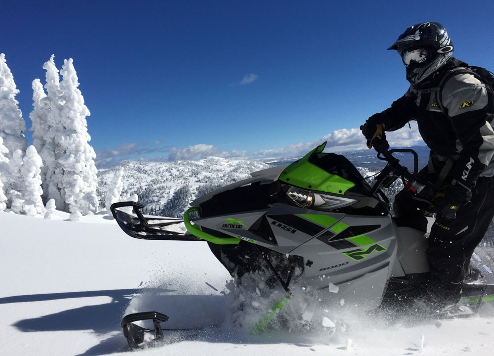 2018 Arctic Cat M8000 Sno Pro Action Edge