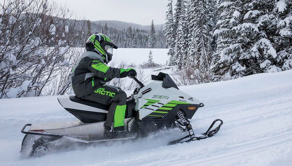 2018 Arctic Cat ZR200 Action
