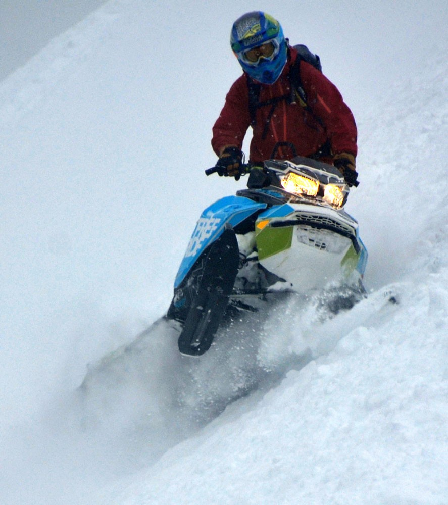 2018 Ski-Doo Freeride Action