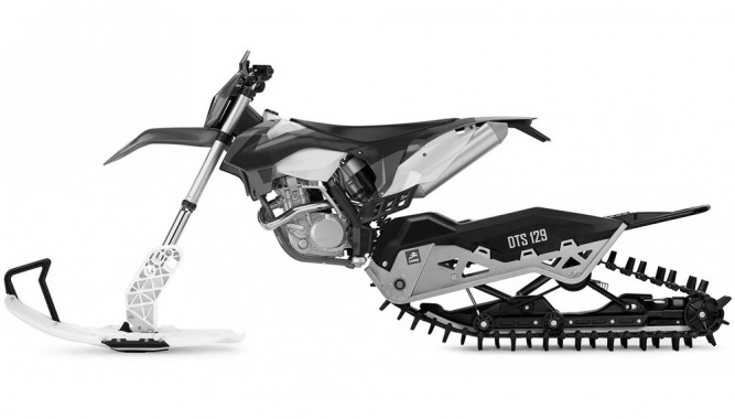 Camso Working With Yamaha On Snow Bike Conversion