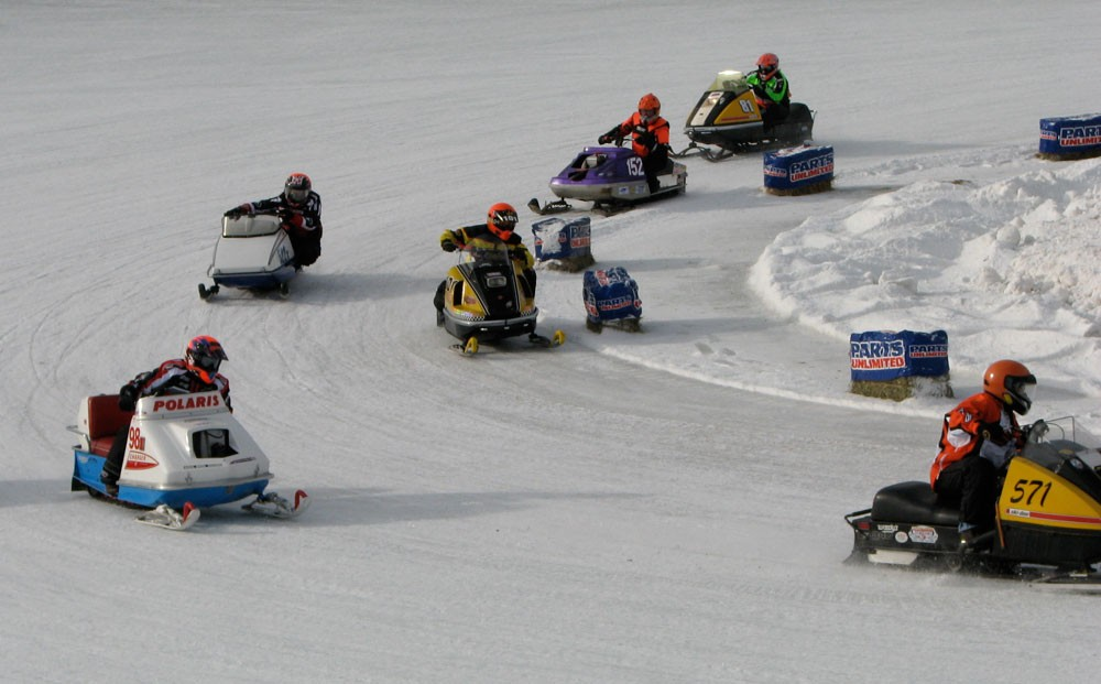 Eagle River Vintage Snowmobile Derby