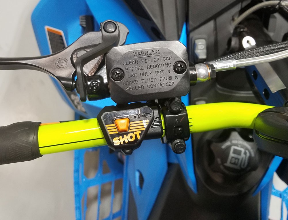 Ski-Doo SHOT Button