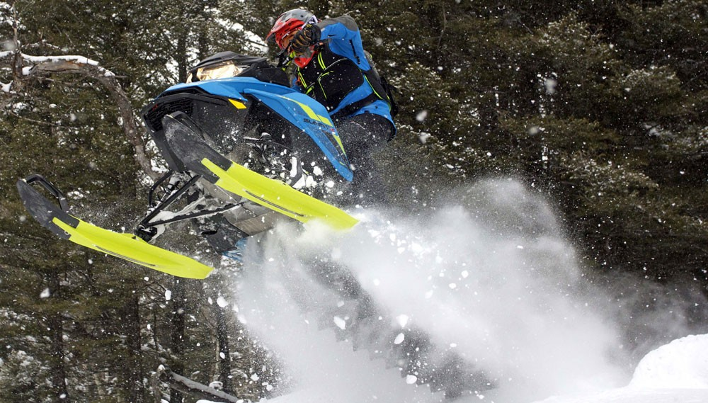 Big Air Snowmobiling