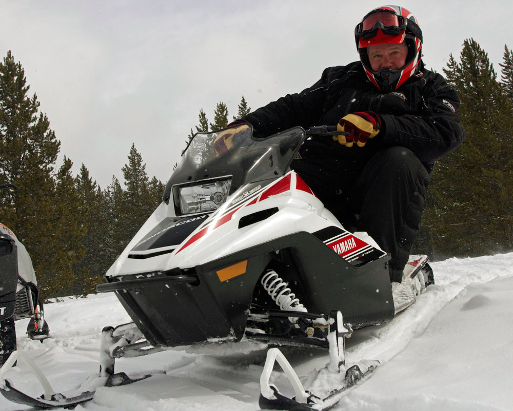 Making snowmobiling great again for New yamaha snowmobile