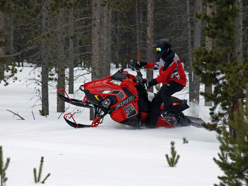 Polaris remains a believer in its 800 advantage as it offers more AXYS performance models with the Cleanfire 800cc semi-direct injected twins than with the 600.