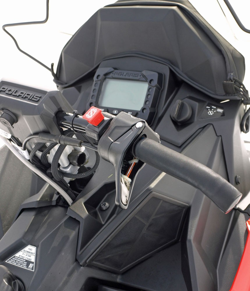 2018 Polaris 600 Switchback XCR Fit and Accessories