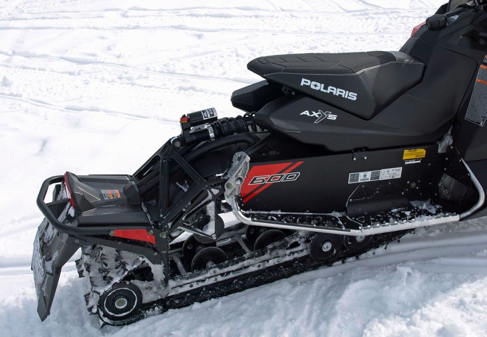 2018 Polaris 600 Switchback XCR Rear Suspension