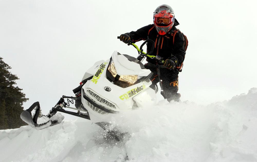 2018 Ski-Doo Freeride Action Playful