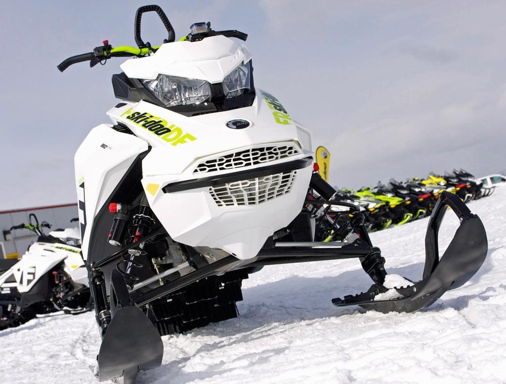 2018 Ski-Doo Freeride Front