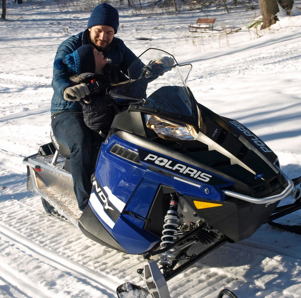 Future Generation Snowmobiler