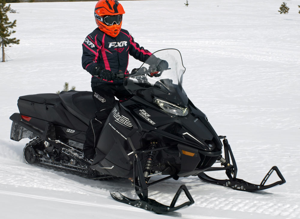 How snowmobile manufacturers build sleds for new niches for Yamaha snow mobiles