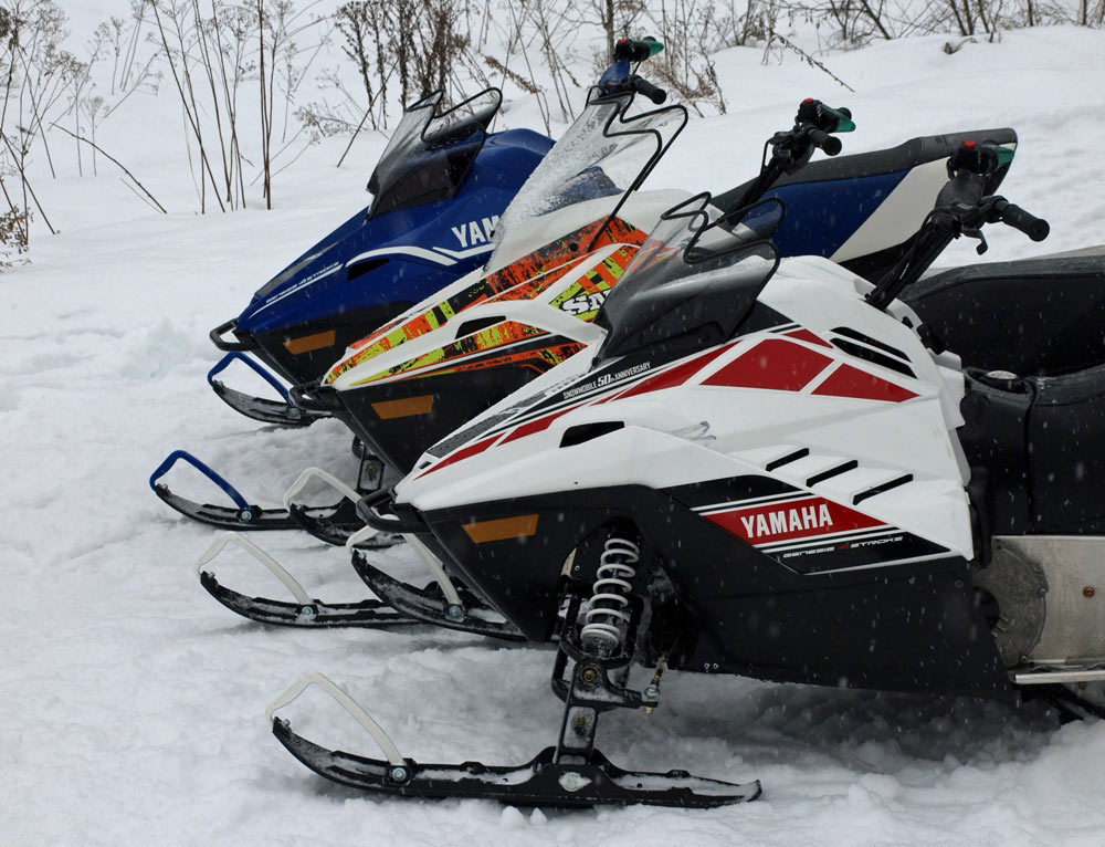 Gateway snowmobiles for Yamaha snow mobiles