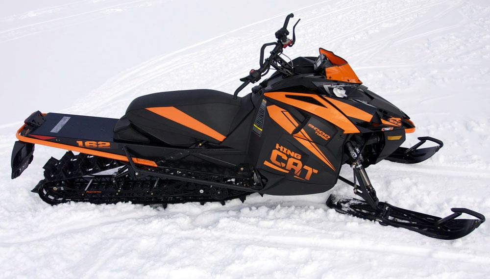 2018 Arctic Cat M9000 King Cat Profile
