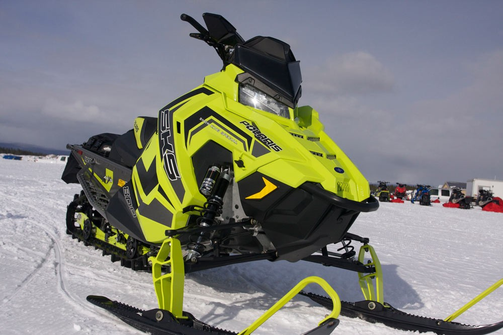 2018 Polaris SKS 146 Front End