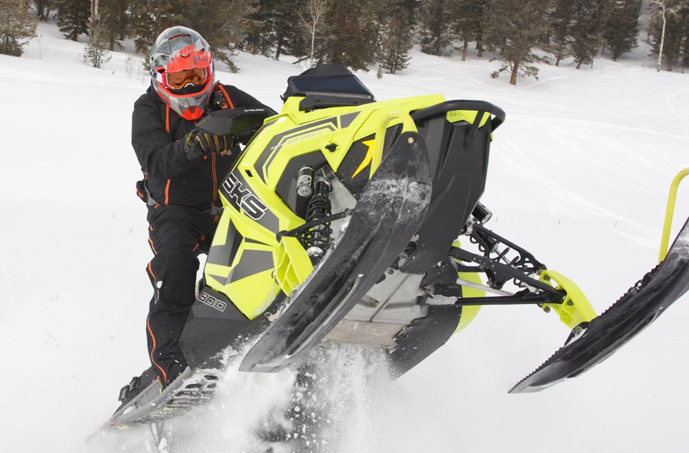 2018 Polaris AXYS SKS 146 Skis Up